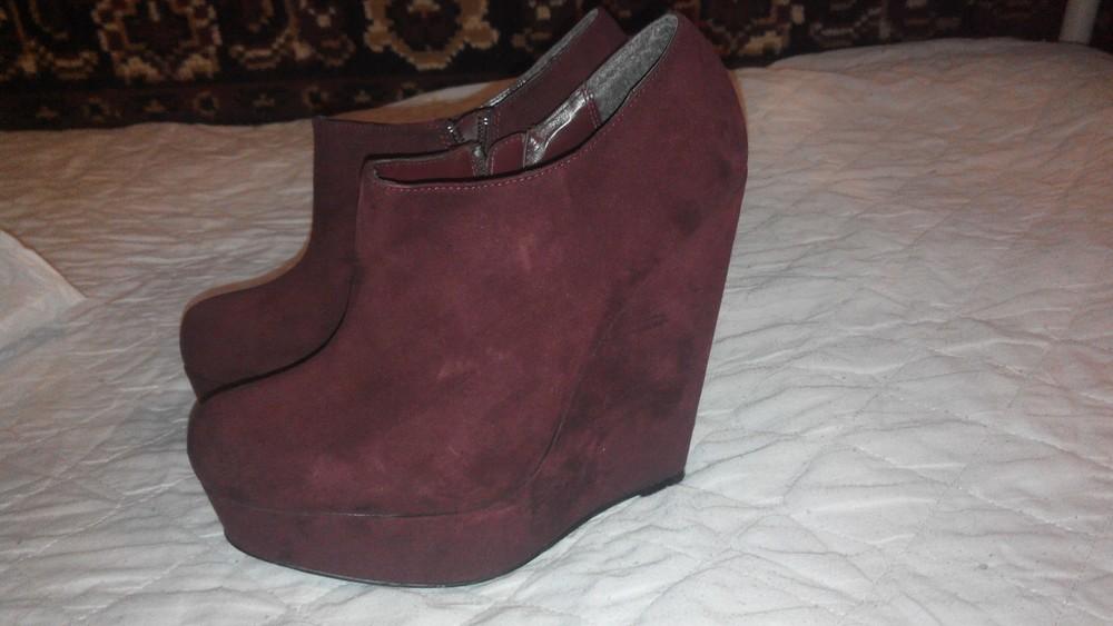деми ботинки 39 р 25 см фото №1