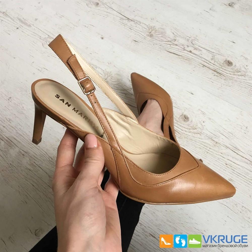 Туфли женские из натуральной кожи San Marina 40 размер (арт. 2598) фото №1