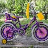 Детский велосипед Azimut Girls размер 16. 18. 20