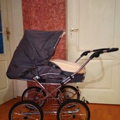 Hesba 2 в 1!!!Немецкая колясочка ручной сборки!!!Для ценителей прекрасного!!!