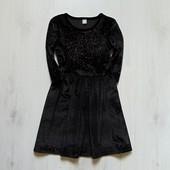 Нарядное велюровое платье для девочки. TU. Размер 8 лет. Состояние: новой вещи