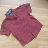 Фирменная рубашка  George малышу 2-3 года состояние новой