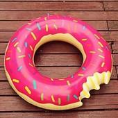 Надувной круг «Пончик», диаметр 70 см
