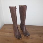 Качественные кожаные сапоги Ecco (40 размер)