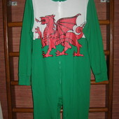 Пижама хлопковая, размер L, рост до 180 см