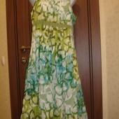 Фирменный M&S сарафан платье хлопок на 50-52 размер