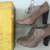Туфли ботильоны Antonio Biaggi Италия Новая коллекция  натуральная замша Будь модной!