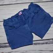 5 - 6 лет 116 см шорты шортики стрейчевые на лето девочке ультра яркие