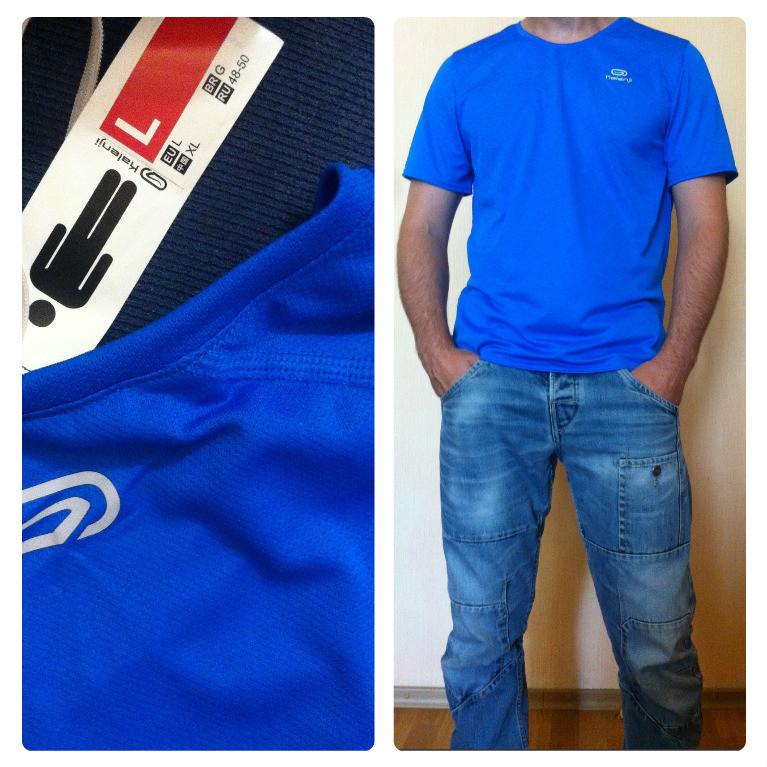 Спортивная футболка Kalenji (размер 48-50) фото №1