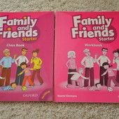 family and friends starter class book and workbook