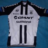 Велофутболка велоджерси веломайка джерси Giant Shimano