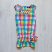Яркая блуза-туника для девочки. George. Размер 2-3 года. Состояние: новой вещи