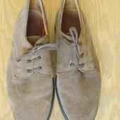Туфлі замшеві розмір 39 стелька 26 см THP