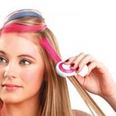 Цветные мелки для волос Hot Hair. Уценка
