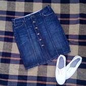 юбка джинсовая прямая