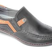 Туфли EeBb (F1293 черн) Туфли для мальчиков (школа).