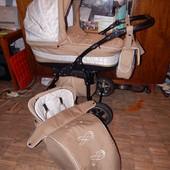 Красивая коляска Anmar Eliss, 2в1, в полном комплекте!