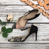Изящные туфли Asos с фактурным декором под питона  SH2629