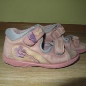 Ricosta Pepino босоножки 26р.кожа Германия сандалии босоніжки для девочки