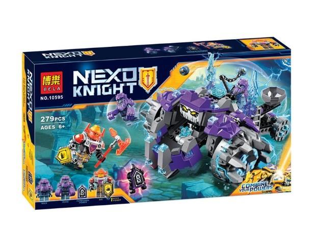 Конструктор bela 10595 нексо найтс три брата (аналог lego nexo knights 70350) фото №1