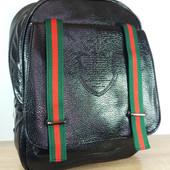 Распродажа!Женский городской рюкзак черного цвета