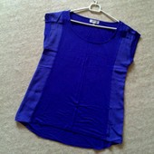 36-40р. Фиолетовая свободная футболка Calvin Klein