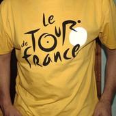 Стильная фирменная футболка Le Tour de France л-хл