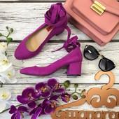 Женственные туфли London Rebel в стиле mary jane на устойчивом каблуке  SH26108