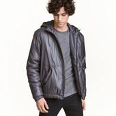 Ветровка утепленная мужская H&M англия размеры s-xxl