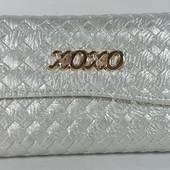 Женский кошелек XO-XO серебристого цвета
