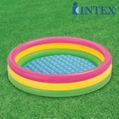 Надувной бассейн Intex 57412 Радуга 114 25см