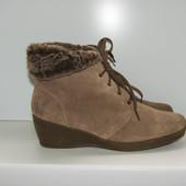 Ботинки еврозима Footglove, р. 39-39,5. замша.