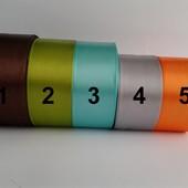 Лента атласная 4см, рулон 23м или метраж по 1,70грн