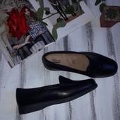 Clarks Крепкие макасины туфли р 41 Кожа