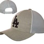 Бейсболка, кепка мужская льняная 56-58 разные цвета и модели