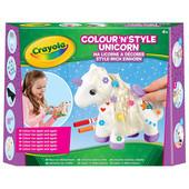 Набор для творчества Crayola Единорог для разукрашивания и украшения