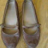 Туфлі шкіряні розмір 8 на 42 стелька 28,1 см Footglove