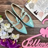 Элегантные туфли Asos в стиле ретро шик на двойной пряжке  SH2722