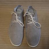 Современные легкие кожаные ботинки спортивного стиля AM shoe company . Германия. 44 р.