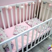 Продам модное детское постельное белье в кроватку Балеринки!