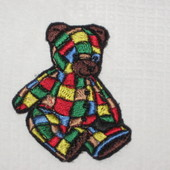Медвежонок брошь, патч, резинка для волос, обруч, нашивка для декора