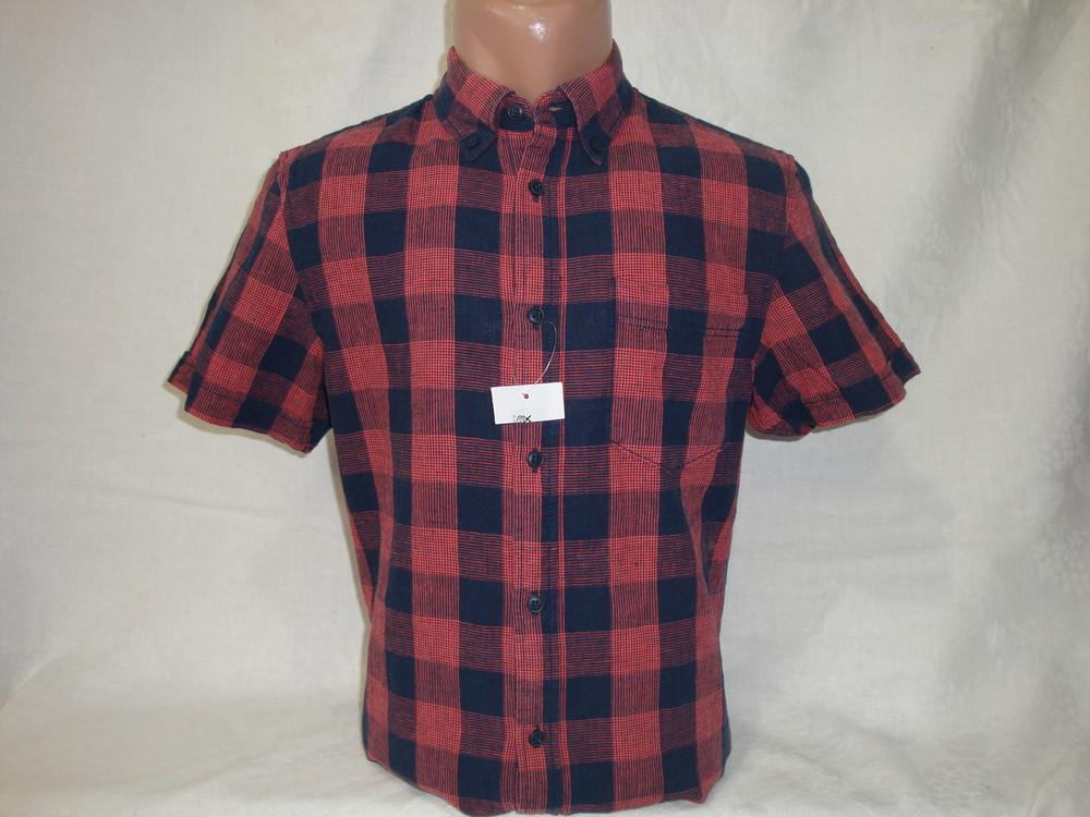 Мужская рубашка с коротким рукавом Angelo Litrico. Разные цвета. фото №1