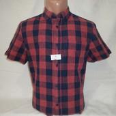 Мужская рубашка с коротким рукавом Angelo Litrico. Разные цвета.
