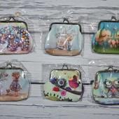 Очень нежные красивые новые кошельки кошелек кошелёк для девочек разные