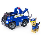 Paw Patrol Щенячий патруль Чейз из серии погоня с эскалатором figure chase with chase's tow truck