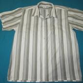 """Легкая мужская рубашечка """"Detai"""" в хорошем состоянии, замеры в описании, Уп 13грн"""