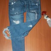 крутейшие джинсы zara размер 10 (32)