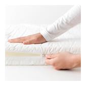 Матрас для детской кроватки, белый, 60x120 см   ikea икеа 402.132.45