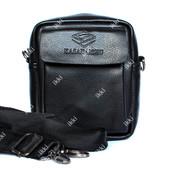 Компактная мужская сумка для мелочей 2в1 коричневая (2023-1)