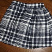 Фирменная F&F  теплая юбка девочке 4-5 лет новая